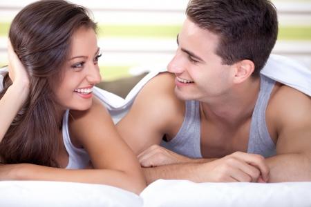 Смотреть молодая пара нежное утро