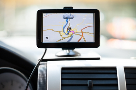 Car navigation system Stock Photo - 15671922