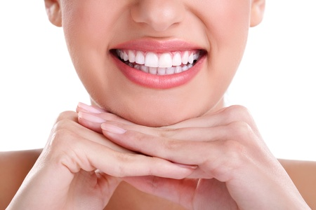 teeth smile:  beautiful healthy smile
