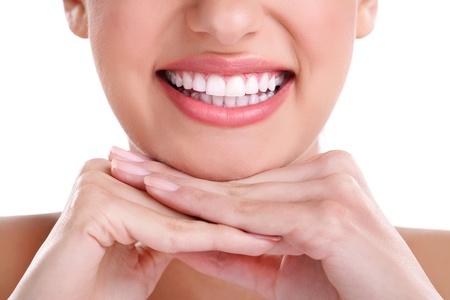 sonrisa: hermosa sonrisa saludable