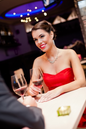 Beautiful young woman looking at her boyfriend with love Stock Photo - 16861008