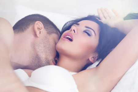 young couple sex:  close up of heterosexual couple having sex
