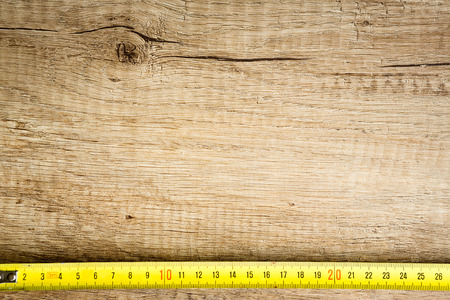 construction background with tape measure meter