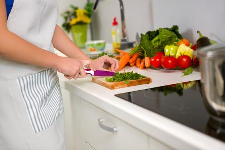 food preparation: Food preparation in the kitchen