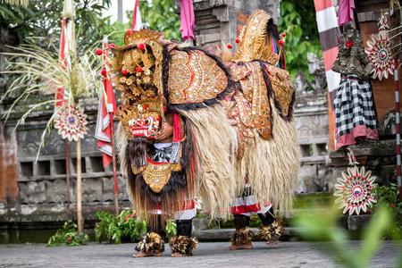 represents: Barong Dance show, represents fight between good and evil spirit