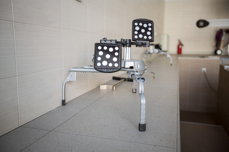 rectification: Mirror Reflector for balancing wheels