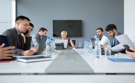 30 40 years: business people working on business meeting in office