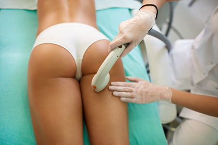 massager: Perfect shape buttocks on anti-cellulite treatment