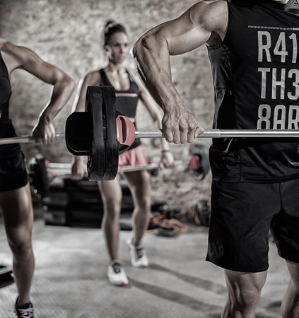 body pump: people with weights,  team workout, body pump.