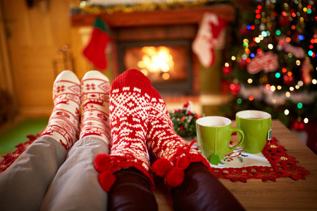 Wurm Weihnachten Socken, Konzept