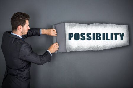 businessman and finding new possibilities Imagens