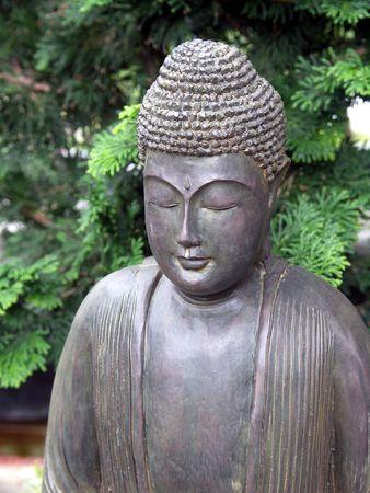 Bronze Buddha Statue Head