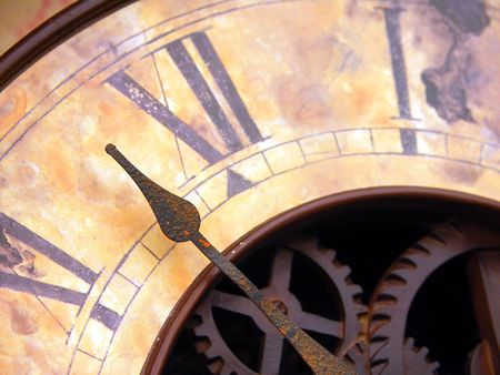 passages: Vintage Clock with Hands