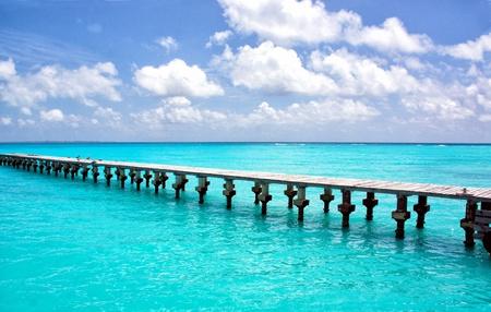 cancun: Cancun pier