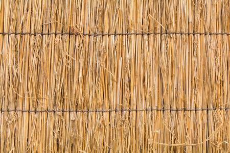 Détail de la texture de toit de chaume japonais Banque d'images - 77812081