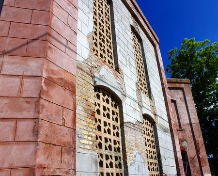 Abandoned Building - 2nd Side View Banco de Imagens