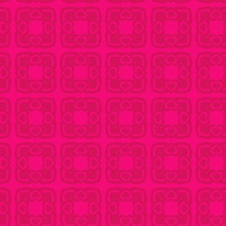 Valentine Seamless Hearts Pattern Stock Vector - 18418129