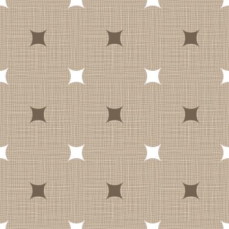 Seamless retro pattern. Linen. Vintage background.