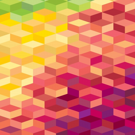 Colourful rhombic background. For prints, web, textile Stock Vector - 18418149