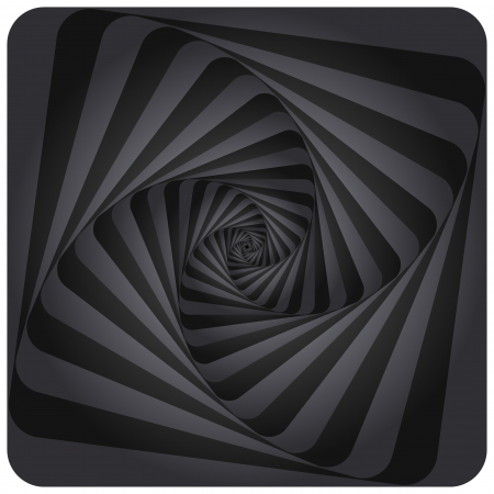 tunnel: Abstract Spiral Background.  Illustration