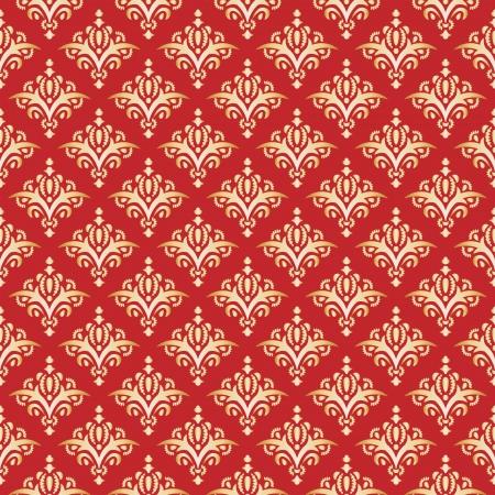 tissue paper: Damask Seamless Pattern, Texture  Elegant Luxury Background