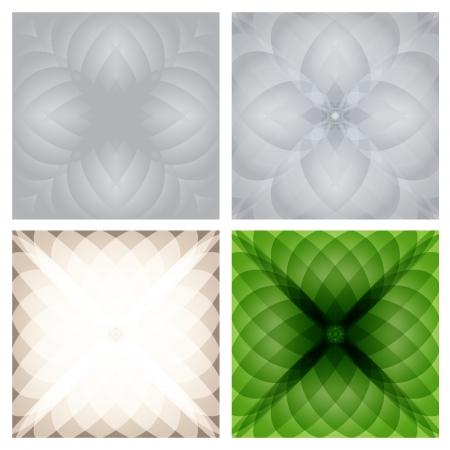 Abstract checkered background set  Vector eps10 Stock Vector - 18633862