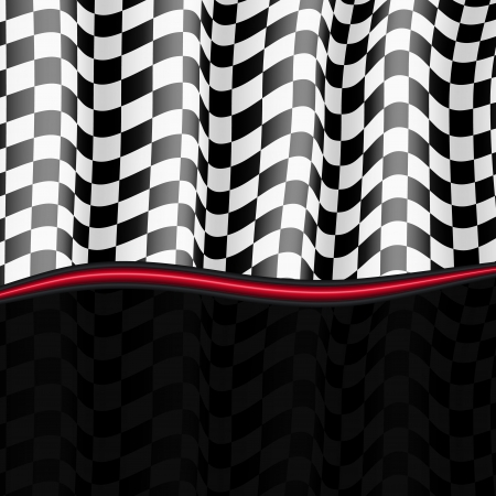 Racing Hintergrund Checkered Flag Vector eps10 Illustration