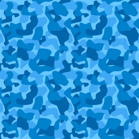 Seamless Camouflage Pattern For Boys  Tiled Texture Illustration
