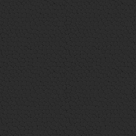 Nahtlose Leather Texture Black Leather mit Ziegeln gedecktes Muster