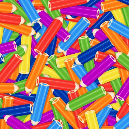 Pencil Pile  Background, Card Or Cover  Vector Illustration Vector