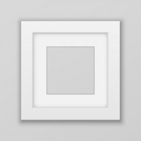 Realistische Picture Frame. Plein. Vector