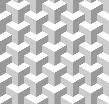 grayscale background: Seamless Geometric Pattern. Grayscale Background. Vector.