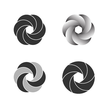 infinite symbol: Logo Or Emblem Template. Vector Icon. Illustration