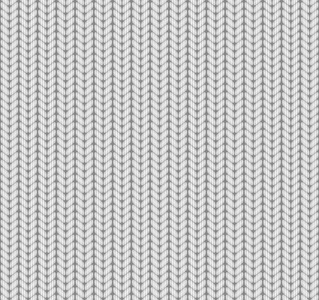 tejido de lana: De punto sin patrón. Blanco. Vector. Vectores