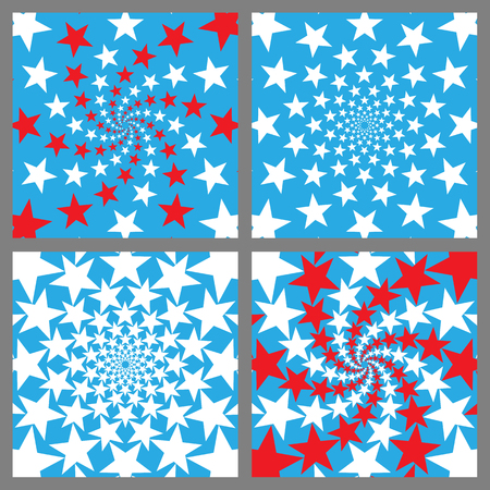 memorial day: USA Holiday Background Set. Veterans Day. Independence Day. Memorial Day. Vector.