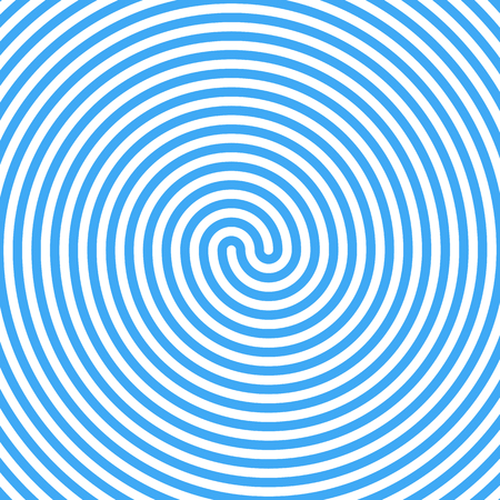 whirlpool: Blue Water Whirlpool. Abstract Spiral Background. Vector.