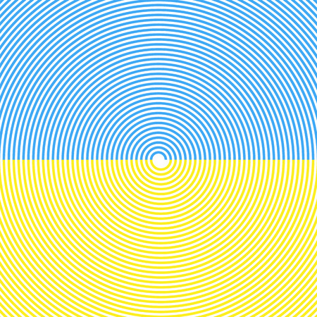 hypnotism: Spiral Background. Sky And Sand Beach. Summer Colors. Vector.