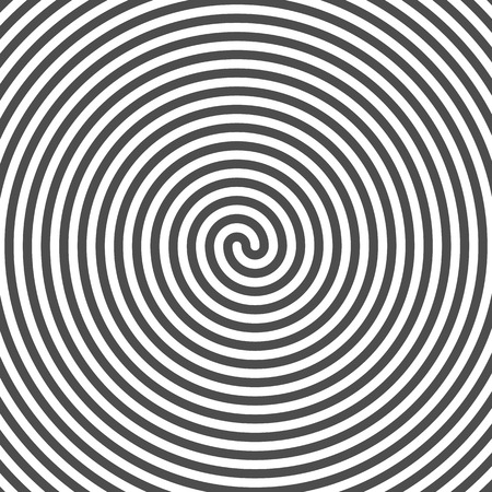 grooves: Hypnotic Spiral Background. Vinyl Grooves. Optical Illusion. Vector.