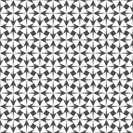 geometrical: Seamless Geometric Pattern. Regular Tiled Ornament. Vector