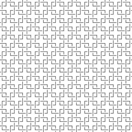 geometrical pattern: Seamless Geometric Pattern. Regular Tiled Ornament. Vector