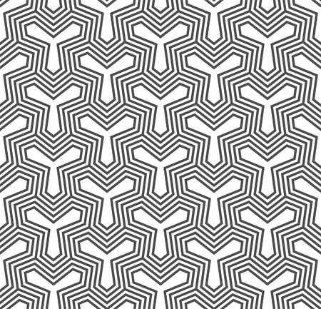 retro patterns: Seamless Geometric Pattern. Regular Tiled Ornament. Vector