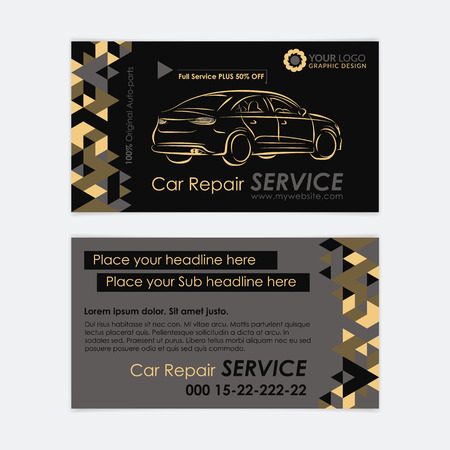 Automotive service business card template car diagnostics and automotive service business card template car diagnostics and transport repair create your own business fbccfo Image collections