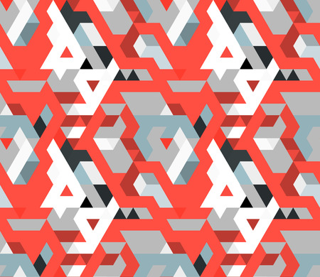 Abstract geometric triangle seamless pattern. Use for textiles, website banner background, book cover. Vector illustration.