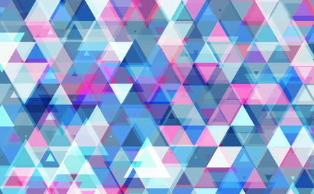 Abstract triangle pattern background. Vector illustration.