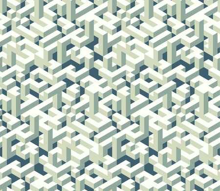Isometric cubes Seamless pattern. Vector pattern for projects as web elements and backgrounds. Illusztráció