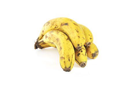 overripe: A bunch of overripe bananas