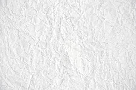 rejecting: Crushed white paper texture.