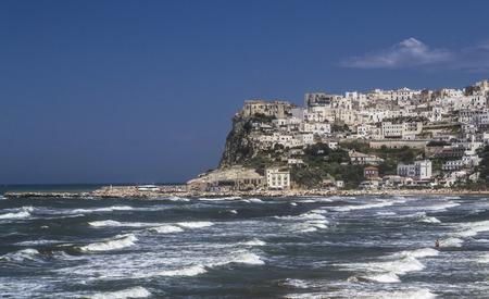 windy day: Peschici in a windy day - Gargano -Puglia