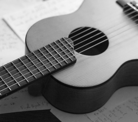 composers: Guitar and words