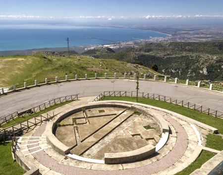 Manfredonia gulf viewed from Monte SantAngelo